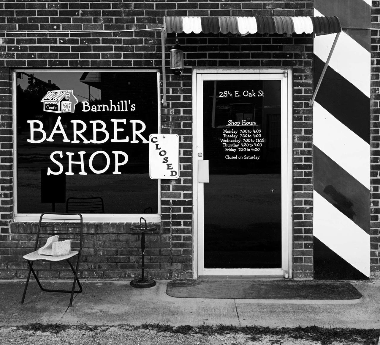 Barber Shop, Arcadia, FL, 2012